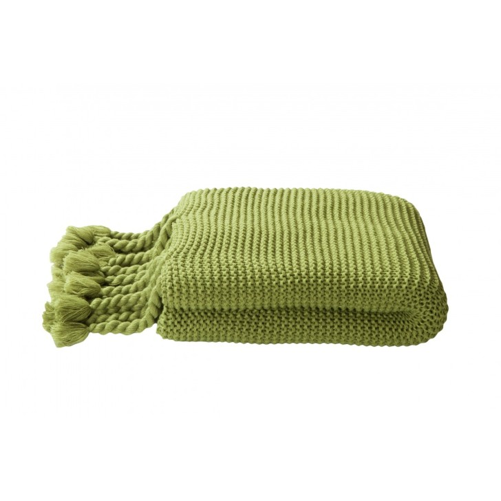 green tallie throw by-kas