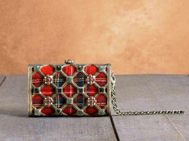 Chanel-Tartan-Minaudiere-Bag