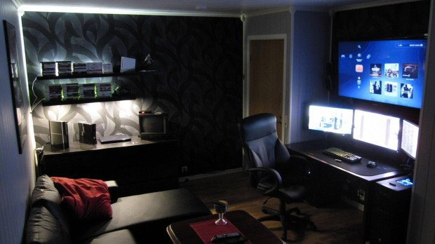 Most gamer men's Dream room!