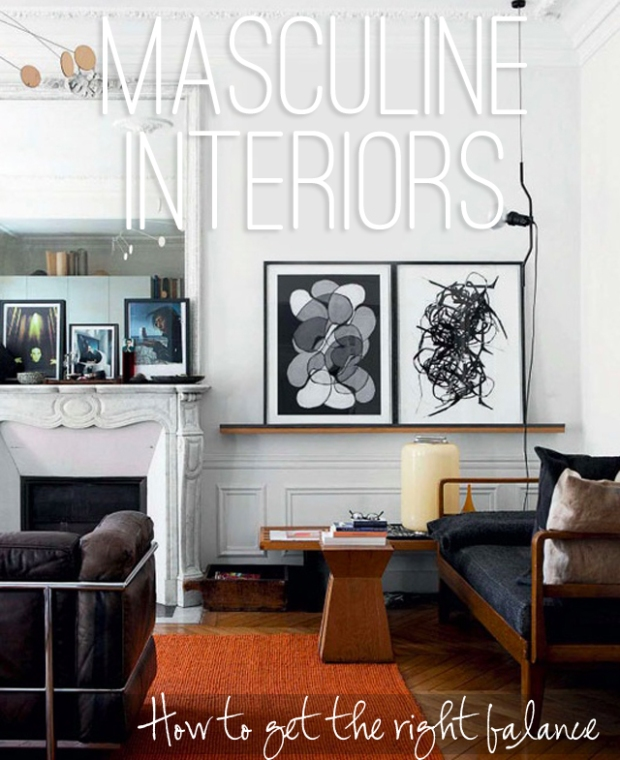 Masculine-Interiors-How-to-Get-the-Right-Balance