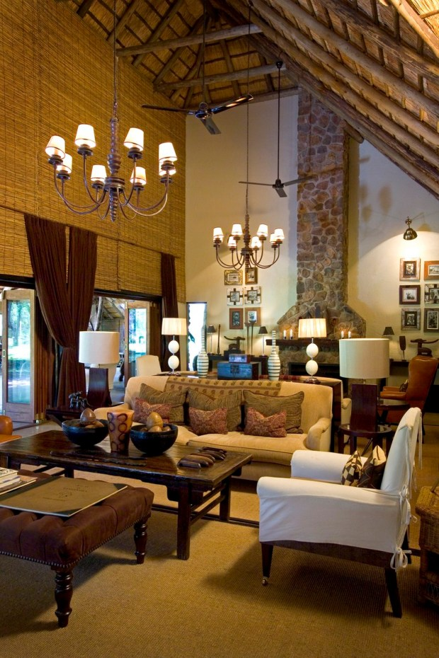 Main Living room- Dulini Lodge- South Africa