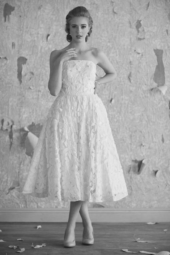 Vintage-tea-length-wedding-dresses